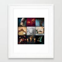 voyage Framed Art Prints featuring VOYAGE by lucborell