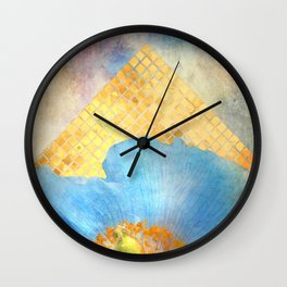 Sky Poppy Wall Clock