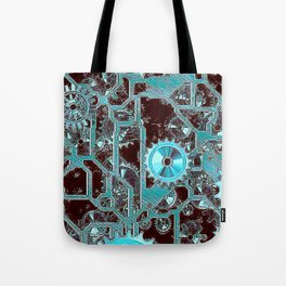 Steampunk,gears Tote Bag