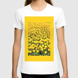Plenty red and yellow Stresa tulips T-shirt