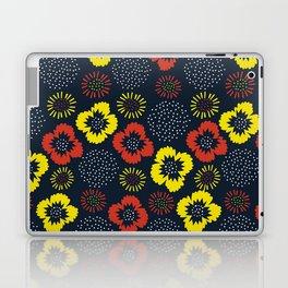 Blooming Wild (red & yellow) Laptop & iPad Skin
