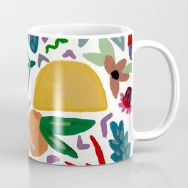 Golden Flora Coffee Mug