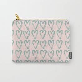 Love Heart Pattern-Mix & Match with Simplicty of life Carry-All Pouch