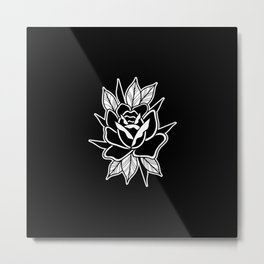 Rose tattoo Metal Print