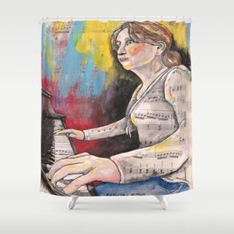 Piano 1 Shower Curtain