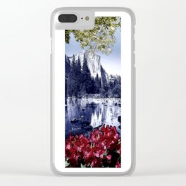 Reflections of El Capitan Clear iPhone Case