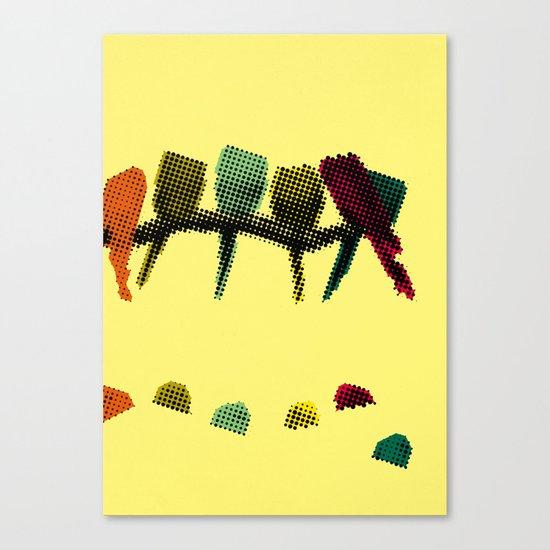 Sudden death Canvas Print