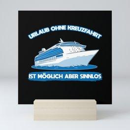 Cruise Mini Art Print