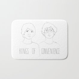 Kings of Convenience Bath Mat