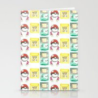nintendo Stationery Cards featuring Nintendo Love by Laura Pulido