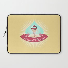 Dessert Please! (Yellow) Laptop Sleeve