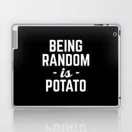 Being Random Funny Quote Laptop & iPad Skin