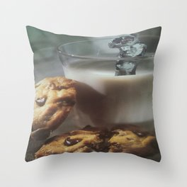 Cookies and Milk Throw Pillow