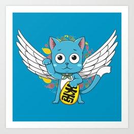 Maneki Happy Art Print
