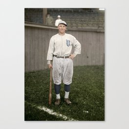 Player with the Vancouver Beavers baseball team, Vancouver, 1919 Canvas Print
