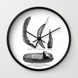 Archaeological Proofs Wall Clock