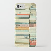 cassia beck iPhone & iPod Cases featuring Bookworm by Cassia Beck