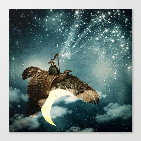 The Night Goddess Canvas Print