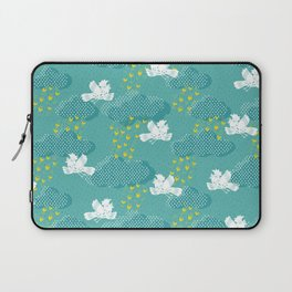 Rain Birds - Teal Laptop Sleeve