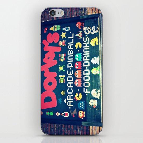 Dorkey's Arcade iPhone & iPod Skin