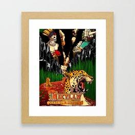 Mictlan Framed Art Print