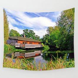 Lakeside Reflections Wall Tapestry