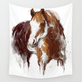 Paint Horse. Wall Tapestry