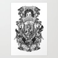 rome Art Prints featuring Rome by DIVIDUS