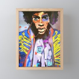 JIMI Framed Mini Art Print