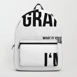 I'm a grandma Backpack