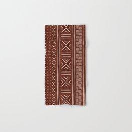 rust mud cloth Hand & Bath Towel