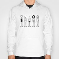 spice girls Hoodies featuring Spice Girls by Band Land