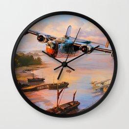 Consolidated B-24 Liberator Wall Clock