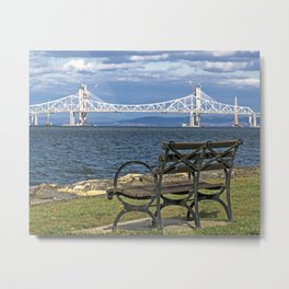 Bridge View Metal Print