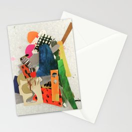 Sunset Mountain Paper Pile Stationery Cards