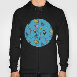 cutout flowers Hoody
