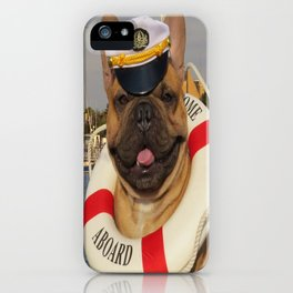French Bulldog - Ship Ship A-Hoy iPhone Case