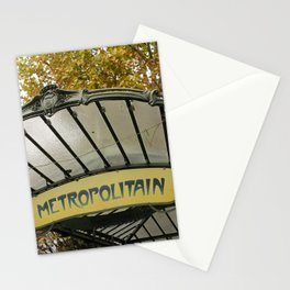Le Metro Stationery Cards