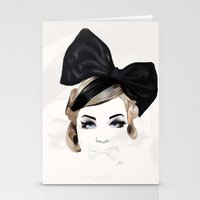 bows Stationery Cards featuring Bows by SoulDeep