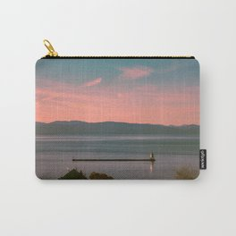 Burlington Vermont Breakwater Lighthouse View of New York State New England Carry-All Pouch