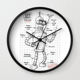 Bending unit 22 Wall Clock