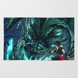 Monster Hunter Files Rug