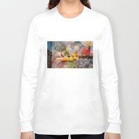 amsterdam Long Sleeve T-shirts featuring Amsterdam by Richard PJ Lambert