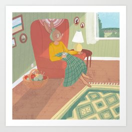 Cozy Afternoon Art Print