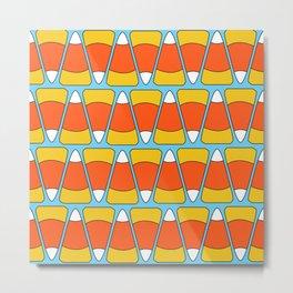 Candy Corn Sweetness / Pattern Metal Print