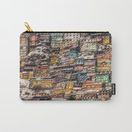Winter Cityscape of Shimla, India by Jeanpaul Ferro Carry-All Pouch