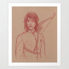 Rin Art Print