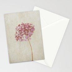 Pink Vintage Hydrangea Stationery Cards