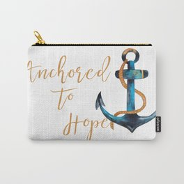 Anchored to Hope Carry-All Pouch