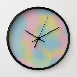 Rainbow Paddle Pop Wall Clock